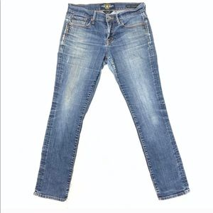 Lucky brand. Straight 'n sweet jeans